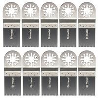 10st 35mm Biometaal Zaagmessen Oscilleren Tool voor Bosch