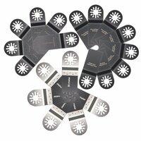 20st Mix Zaagmessen Kit Multi Tool Zaagblad Accessoires Bijpassende Set