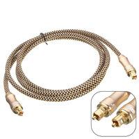 1.5m Premium Toslink Fiber Optic Digitaal Audio Optisch Kabel S/PDIF Koord Draad