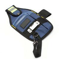 3 Pocket Professioneel Electricien Tool Riem Pouch met tape Gesp