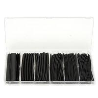 160st Zwart Polyolefine 2:1 Krimpkous 1.5/2.5/3/4.5/6/9mm