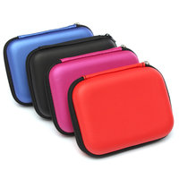 Rood Draagtas Cover Pouch Tas voor 2.5inch USB Externe Harde Schijf Drive Laptop