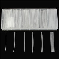150st Transparant Polyolefine 2:1 Halogeenvrij Krimpkous Kit 6 Maten
