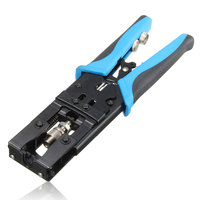 Professioneel Krimp Tool RG59/58/6 Coax Samendrukking Krimp Connectors BNC/RCA/F