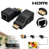 2st HDMI naar RJ45 Netwerk Lan Ethernet Kabel Extender Over bij Cat 5e/6 HD 1080P 3D