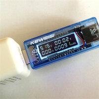 KEWEISI 3V-9V 0-3A USB Lader Power Batterij Capaciteit Tester Spanning Stroom Meter