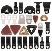 100st Mix Oscilleren Multi tool Zaagmessen voor FEIN BOSCH Dremel Makita