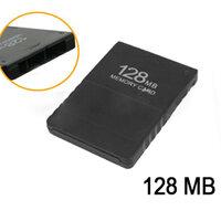 128MB Geheugenkaart voor Playstation 2 PS2 Zwart