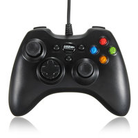 Dual Shock Bedrade USB Game Controller Joypad voor PC