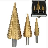 3st HSS Stap Boor/Pagoda Boor/Ladder Boor Ronde Schacht 4-12/4-20/4-32
