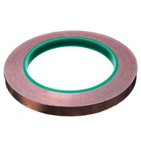 25 Meters 10mm EMI Shielding Dubbelzijdig Geleidend Zelfklevend Koperen Folie Tape