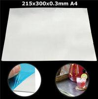 215mm x 300mm x 0.3mm Aluminium Legering Crafts Tool Metalen Shim Plaat A4 voor Die Snijden