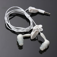 Wit 3.5MM Zwemmen Waterbestendig Oordopjes Voor Media Player FM Radio MP3 iPod