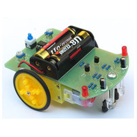 Tracking Robot Auto Electronisch DIY Kit met reductie Motor
