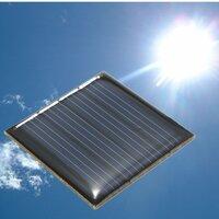 2V 0.14W 70mA 40 x 40 x 3,0 mm polykristallijn silicium zonnepanelen Epoxy