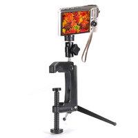 Draagbaar Zwenkbare Klem Tripod Voor camera Camcorder DSLR