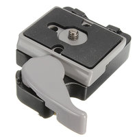 323 Quick Release Klem Adapter 200PL-14 QR Voor Manfrotto Tripod