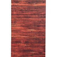 0.9 x 1.5m Rood Houten Wand Vloer Vinyl Studio Achtergronddoek
