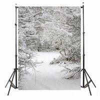 1.5x2.1m Sneeuw Kerstmis Theme Achtergrond