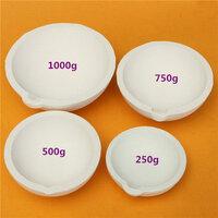 500G Quartz Silica Smeltend Smeltkroes Pot voor Goud Zilver Platinum Verfijnen 1000g