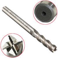 6mm Schacht Aluminium Hard HSS Snijmes 6×6×24×68mm Verlengde Frees