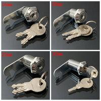 16mm Nokvergrendeling Deur Kastje Brievenbus Lade Kast Locker 2 Sleutels