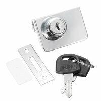 Dubbele Glas Kastje Deurslot Cam Sleutel Showcase Display Locking met 2 Sleutels