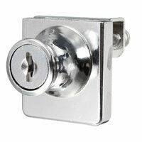 Enkel Glas Kastje Deurslot Cam Sleutel Showcase Display Locking met 2 Sleutels
