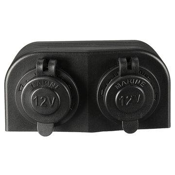 12/24V Waterafstotend Tweevoudig Sigaret Stopcontact