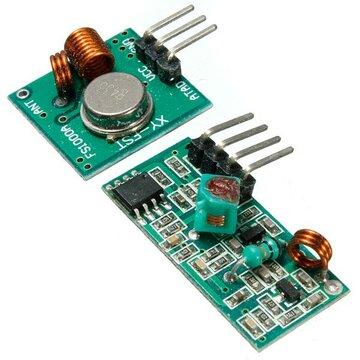 433Mhz RF-zender met ontvanger Kit For Arduino ARM MCU Draadloos