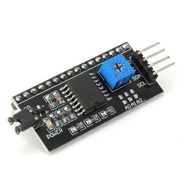 IIC I2C TWI SP Serial Interface Module Port Voor 5V Arduino 1602LCD