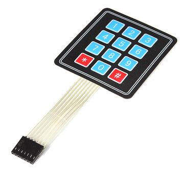 4 x 3 Matrix 12 Key Array Membraan Schakelaar Toetsenbord voor Arduino