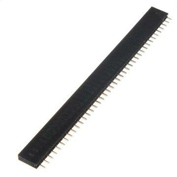 1 Stuk 40P 40 Pin 2.54mm vrouwelijke Header Connector Socket voor DIY Arduino