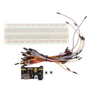Geekcreit® MB-102 MB102 Solderless Breadboard + Voeding + Startkabel Kits voor Arduino