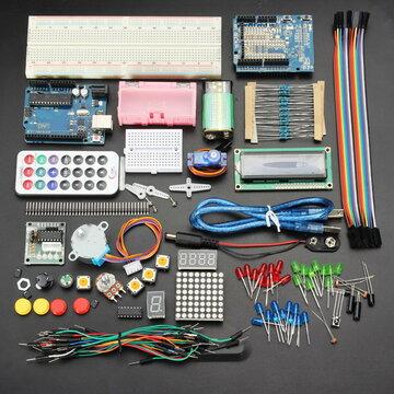 Geekcreit® UNO R3 Basic Starter Kit Leren upgradeversie voor Arduino