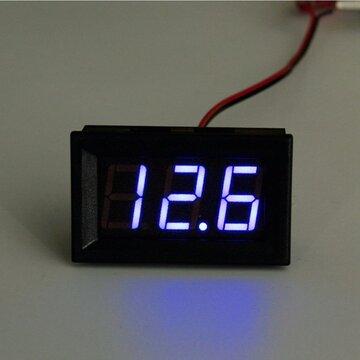 3 ~ 30V DC 0,4 Inch Voltmeter Ampèremeter Board LED Amp Digitale Volt Meter Gauge