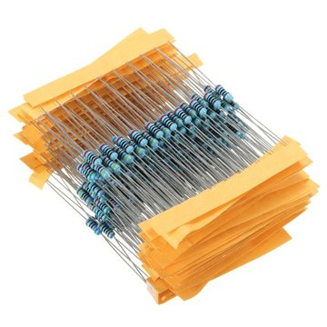 300 stuks 1% 1 / 4W Metaal Film Weerstand Weerstand 30 Waarden Assortiment Kit