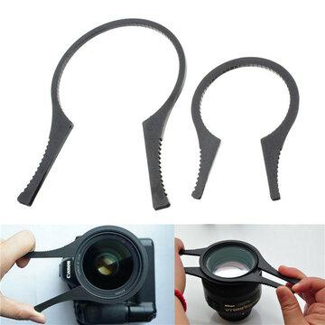 Maat S 48-58mm/62-82mm Kood Filter Moersleutel Spanner Cameralensfilter Verwijderingsgereedschap Zwart