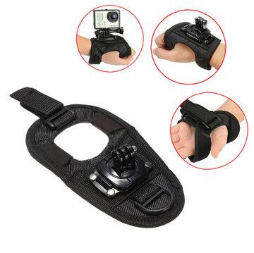 Verstelbaar Palm Polsbandje Draagriem Mount Voor GoPro 1 2 3 3 Plus Xiaomi Yi SJ4000 SJ5000
