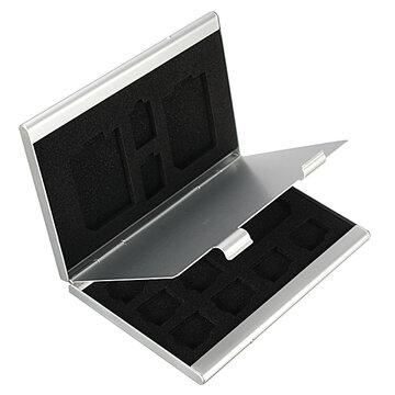 13 In 1 Draagbaar Aluminium Opslag Box Voor TF SD Kaart
