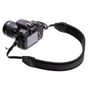 Neopreen Riem Zwart Voor Canon Nikon Sony Pentax DSLR Camera