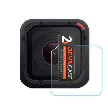 Doorzichtig 9H Hardheid Gehard Glas Lens Screen Protector Voor Gopro Hero 4 Session