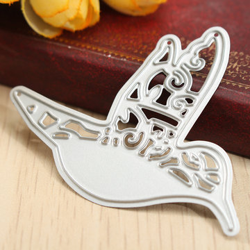 Flying Vogel Die Stansmessen Stencil DIY Plakboek Embossing Craft Card Decoratie