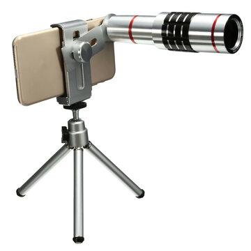 18X Universeel Telefoon Foto Lens Telescoop Mount Tripod Voor Telefoon