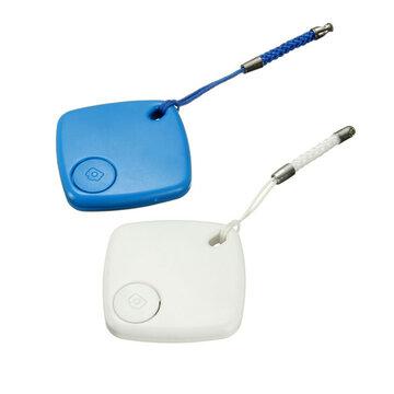 Blauw Anti-lost Alarm Sleutelhanger Camera Remote Shutter Voor Telefoon Bluetooth 4.0