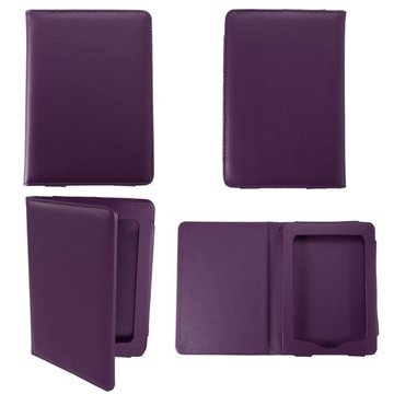 Paars Magnetisch PU Case Cover Ebook Protector Voor Kindle Paperwhite Reader