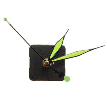 Groen & Zwart Lichtgevend Wijzers DIY Kwarts Klok Spil Beweging