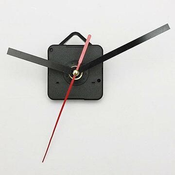 Zwart & Rood Wijzers DIY Kwarts Wandklok Bewegingsmechanisme