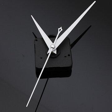 DIY Wit Driehoek Wijzers Kwarts Zwart Wandklok Bewegingsmechanisme