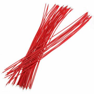 Rood 50st twee uiteinden met Vertind 20cm Breadboard Jump Kabel